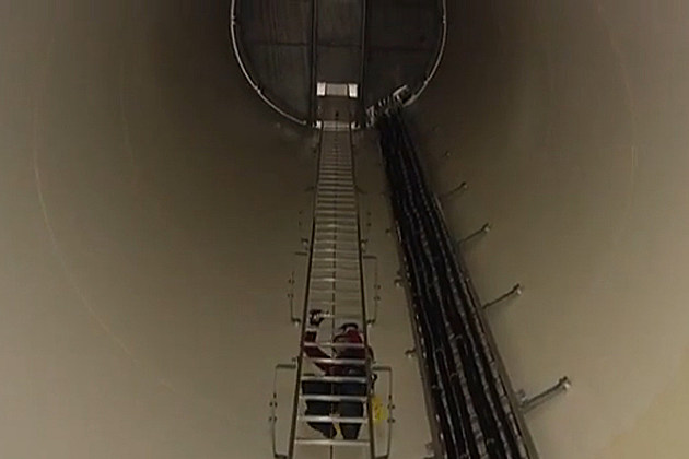 Inside A Wind Turbine