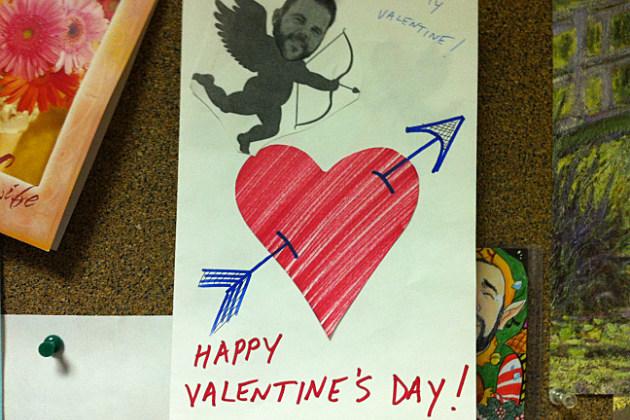 Larry's V-Day Card