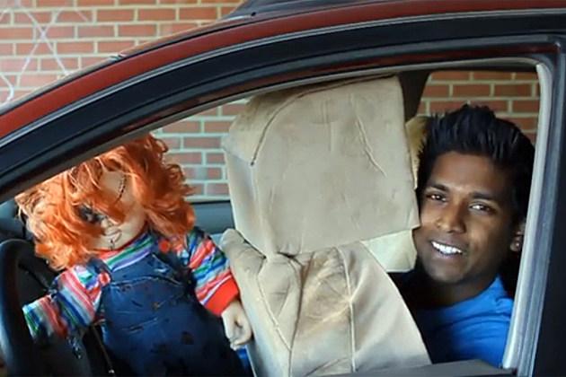 Drive-Thru Scary Doll