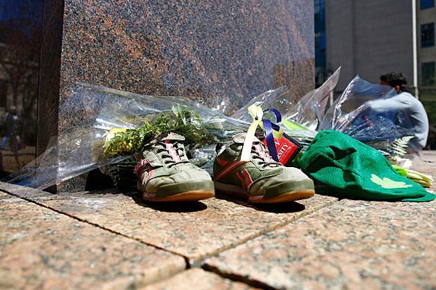 Third Bombing Victim Lu Lingzi's Shoes