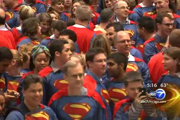 Sears Superman Employees