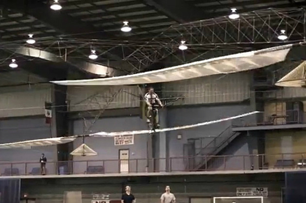 Human Helicopter