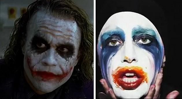 Heath Ledger & Lady Gaga