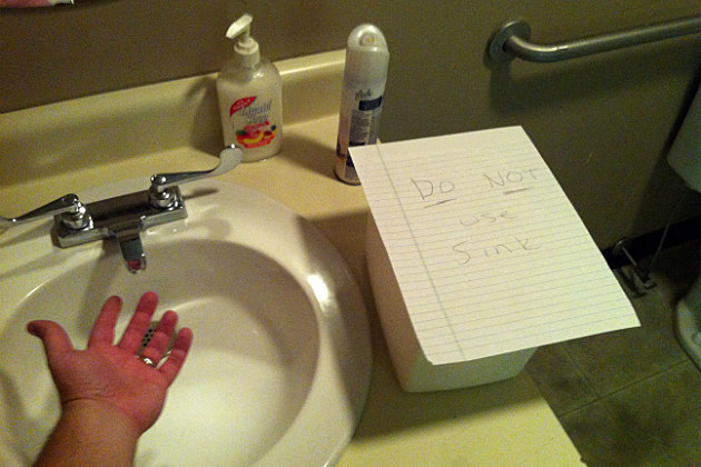 Bathroom Sign #2