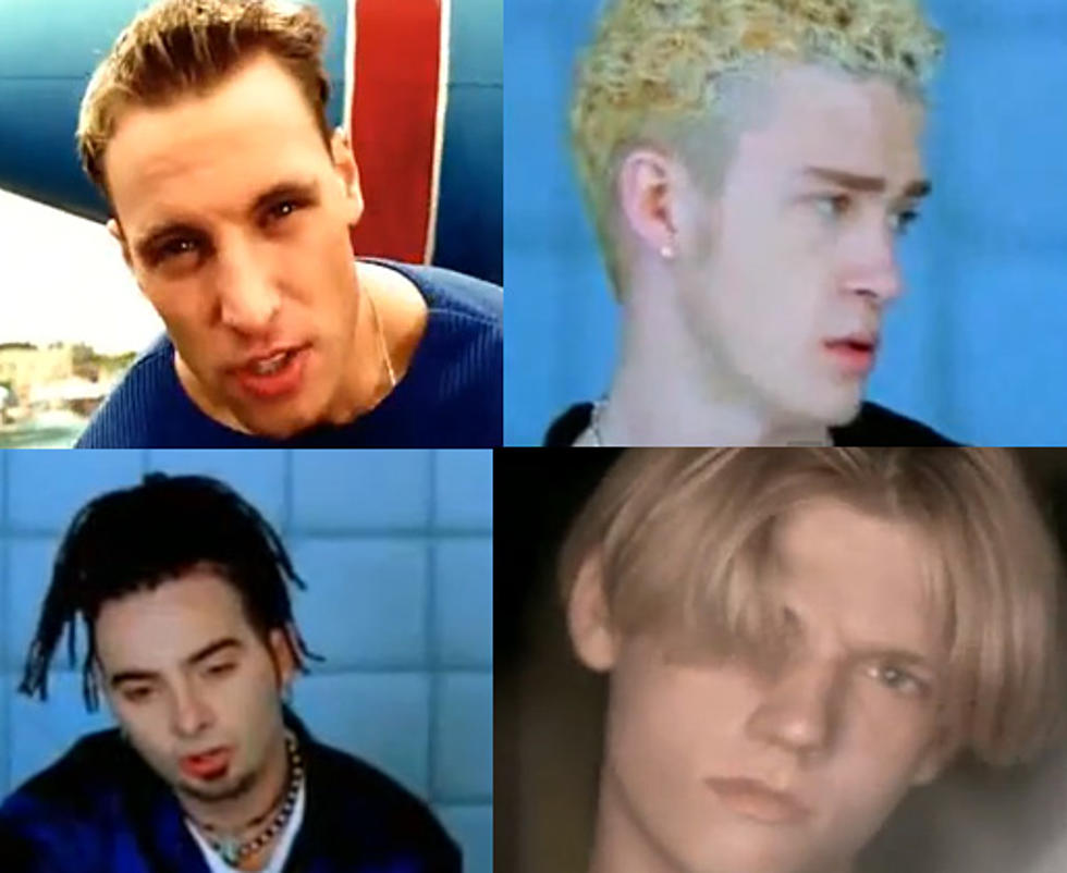 The Best And Worst Boy Band Hair From The 90s