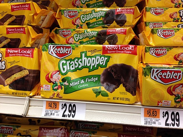 Keebler Grasshopper cookies