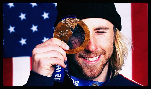 Sage Kotsenburg with Gold Medal