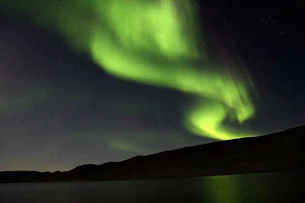 Greenland Aurora Borealis