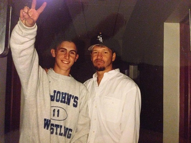 Donnie Wahlberg and Michael Rock