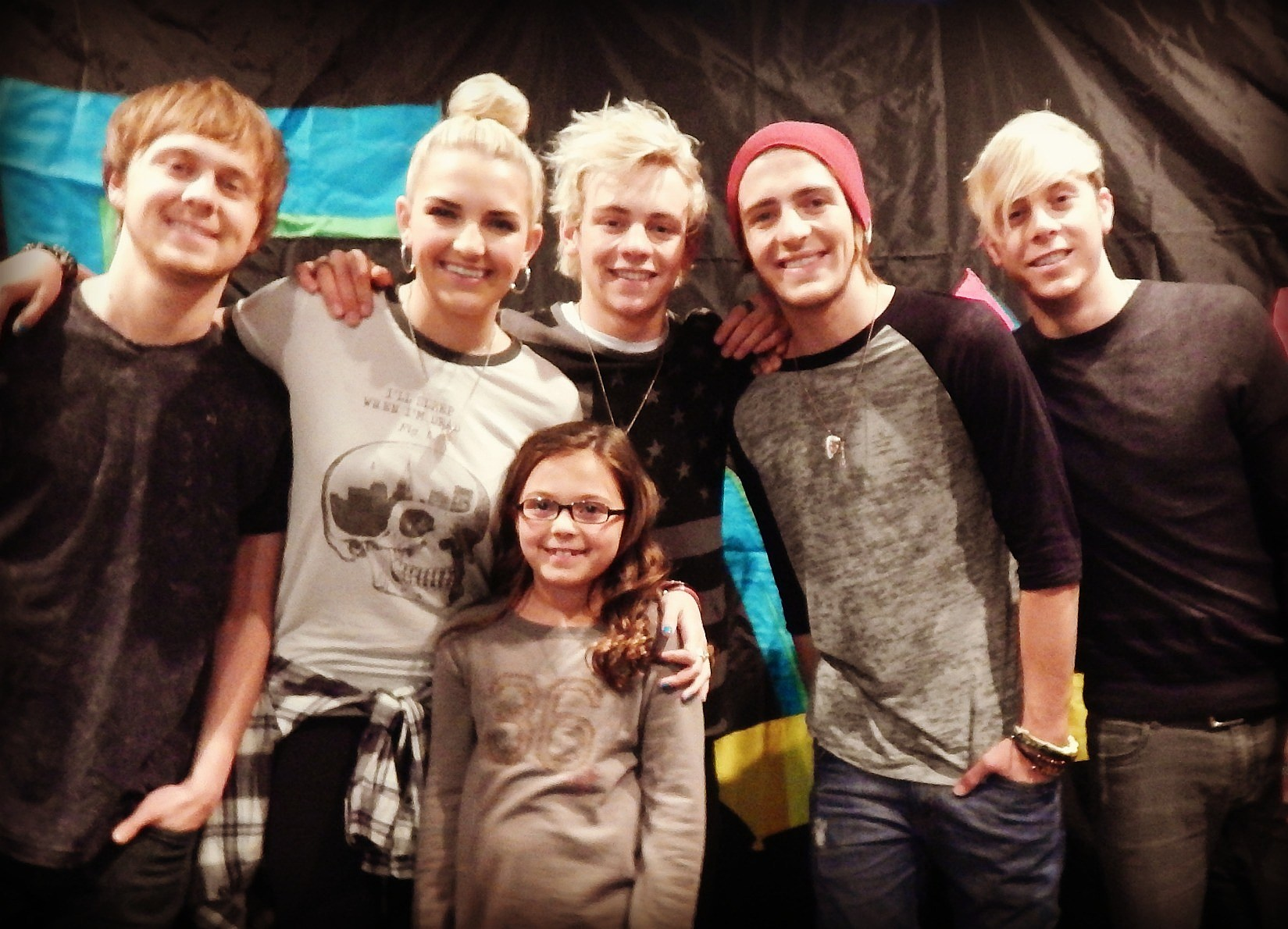 Hang out with ross lynch at the r5 meet and greet event kristyandbryce Gallery