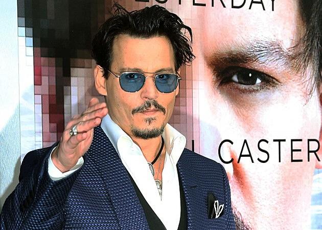 """Johnny Depp at """"Transcendence"""" Premiere"""