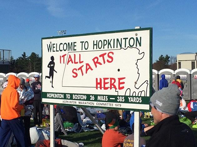 Hopkinton Sign