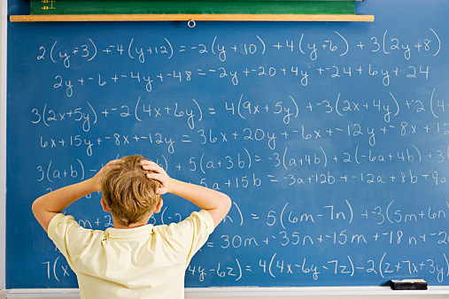 Student Overwhelmed by Math Problem
