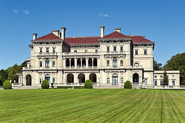 The Breakers mansion, Rhode Island, United States.