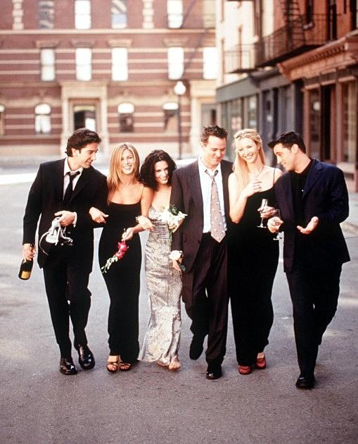 The Cast Of Friends 1999 2000 Season