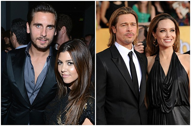 Disick, Kardashian, Pitt, Jolie