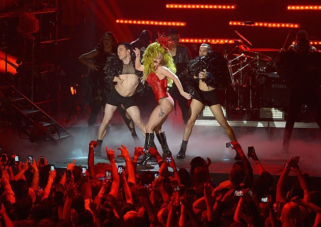 Lady Gaga at Roseland