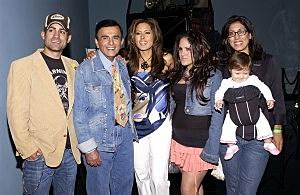 Casey Kasem with his kids