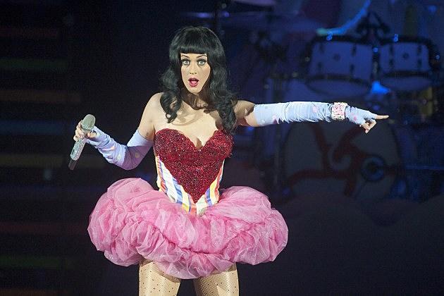 Katy Perry Performs Live At HMV Hammersmith Apollo