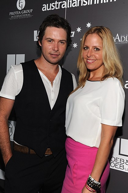 Michael Johns and Stacey Vuduris
