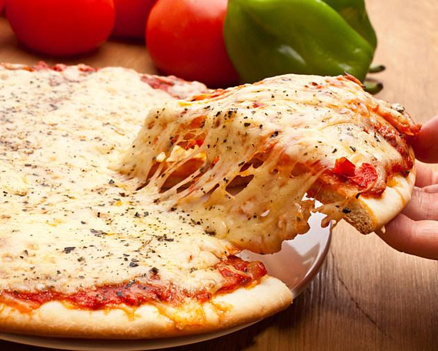Slice of pizza margarita