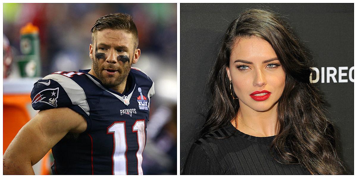 Patriots' Julian Edelman Linked To Supermodel Adriana Lima