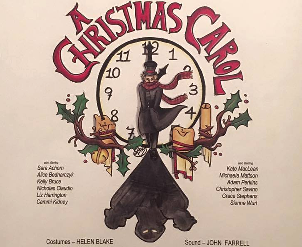 orrs triennial production of a christmas carol - When Was A Christmas Carol Written