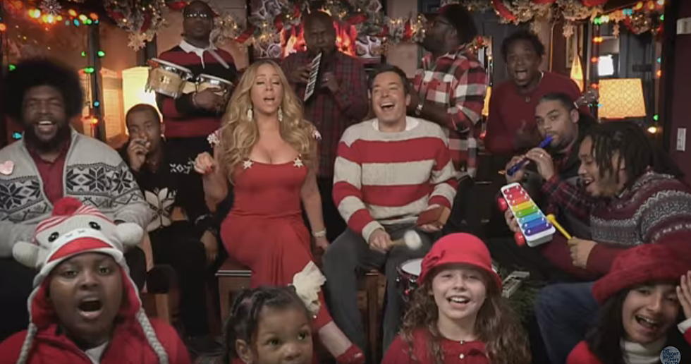Mariah, Jimmy Fallon & The Roots Sing A Christmas Favorite