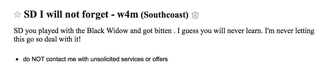 Craigslist/Southcoast Personals
