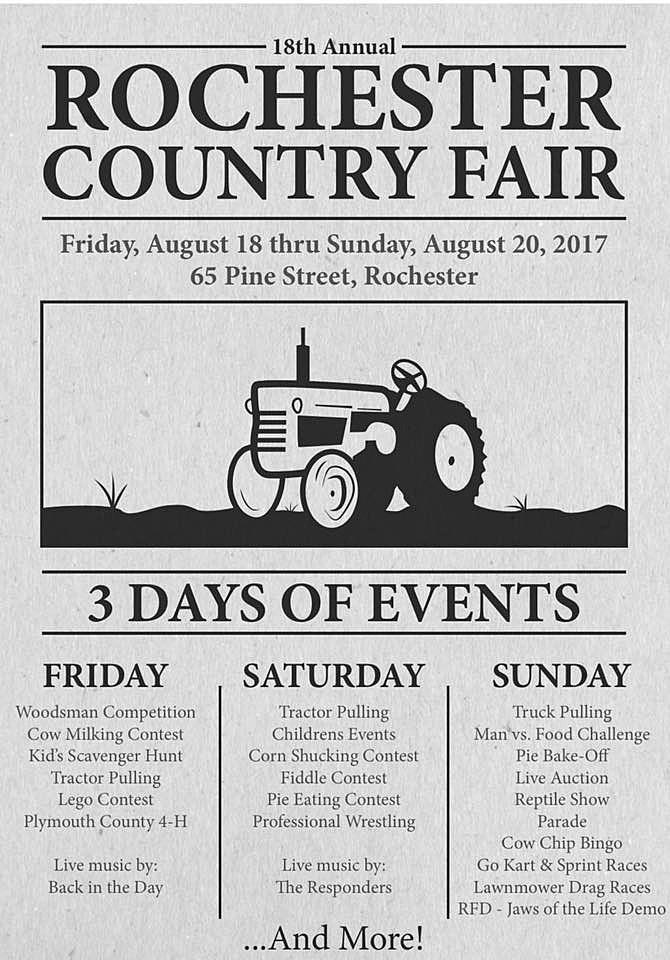 rochester fair poster
