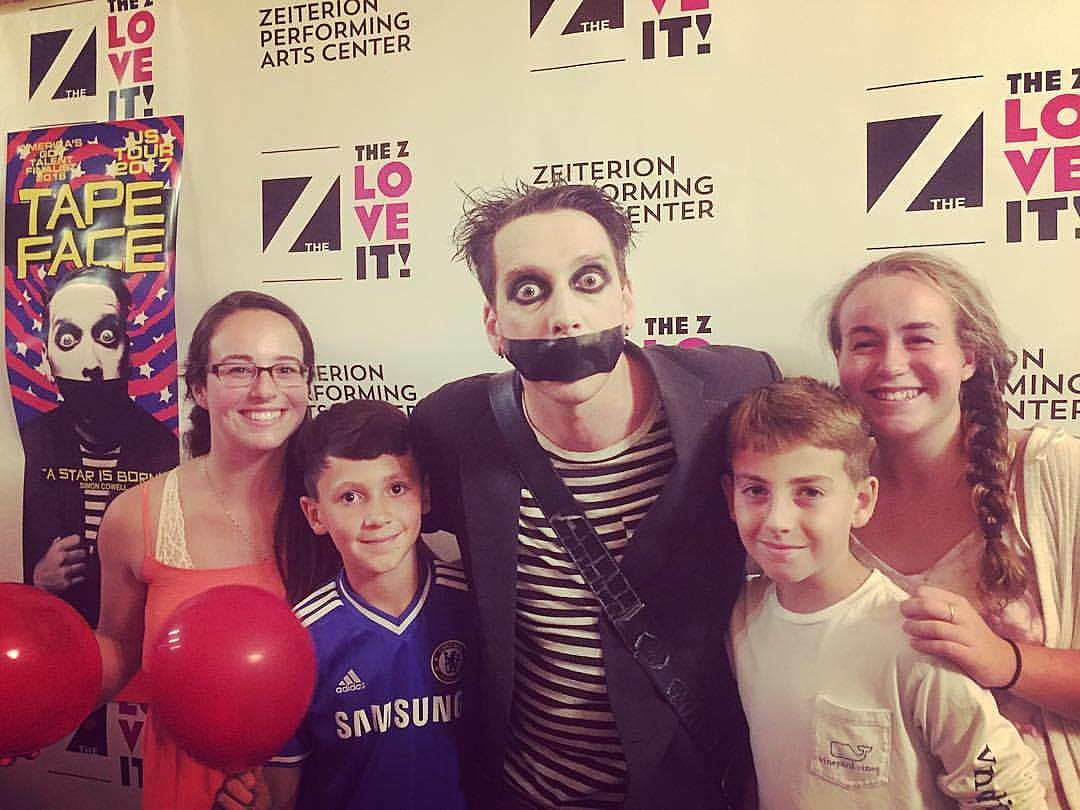 Tape Face at the Zeiterion - Kasey Silvia / TSM